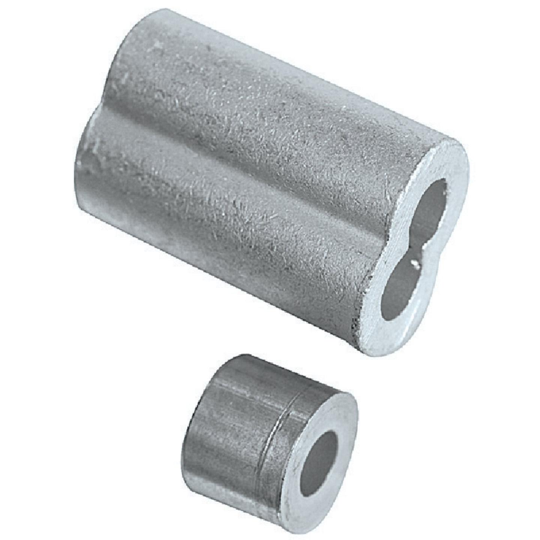National 3/16 In. Aluminum Garage Door Ferrule & Stop Kit Image 2
