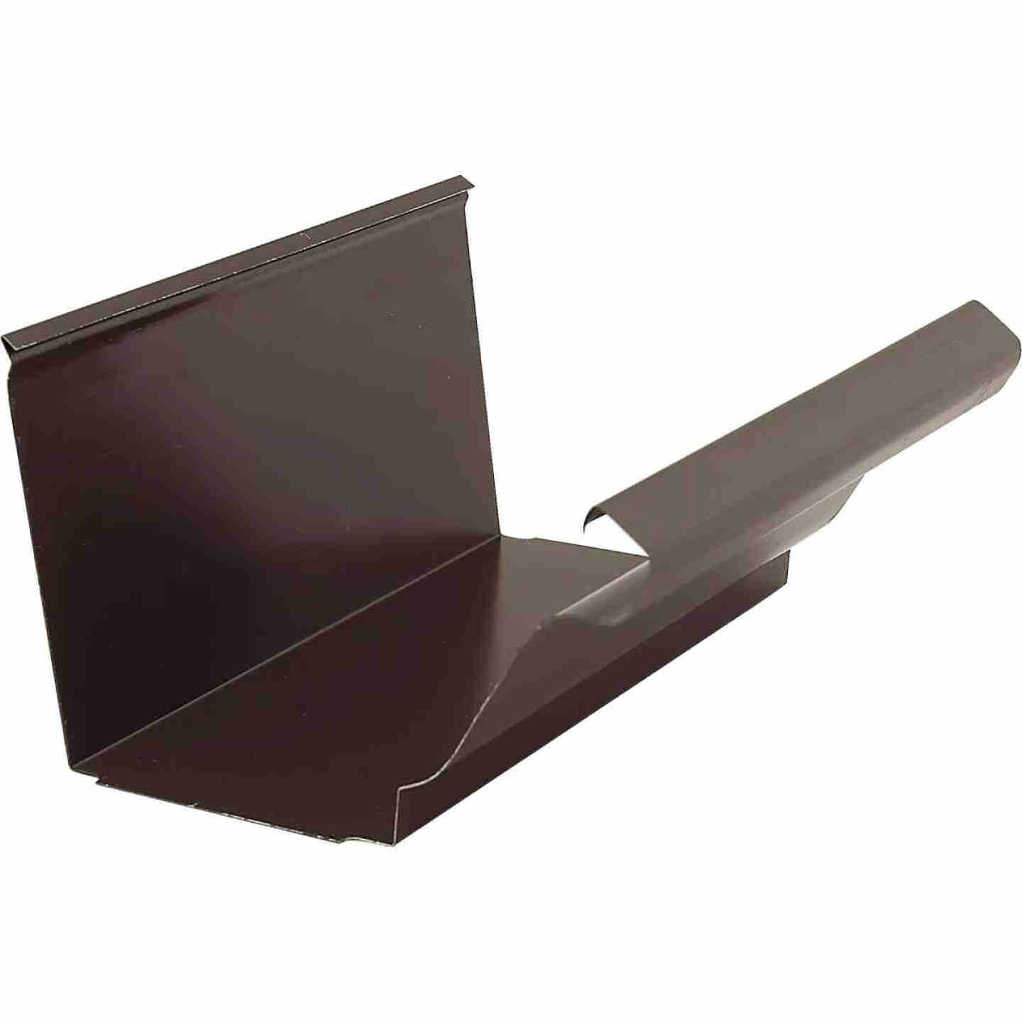 NorWesco 4 In. Galvanized Brown Slip-Joint Gutter Connector Image 1
