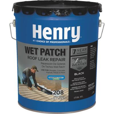 Henry Wet Patch 5 Gal. Roof Cement and Patching Sealant