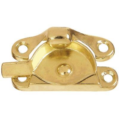 National Bright Brass 7/8 In. Crescent Sash Lock