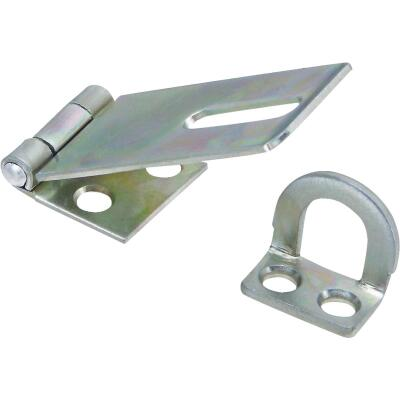 National 1-3/4 In. Zinc Non-Swivel Safety Hasp