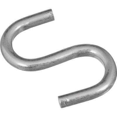 National 1 In. Zinc Heavy Open S Hook (6 Ct.)