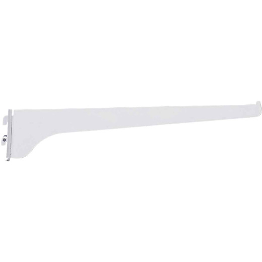 Knape & Vogt 180 Series 8 In. Titanium Steel Regular-Duty Single-Slot Shelf Bracket
