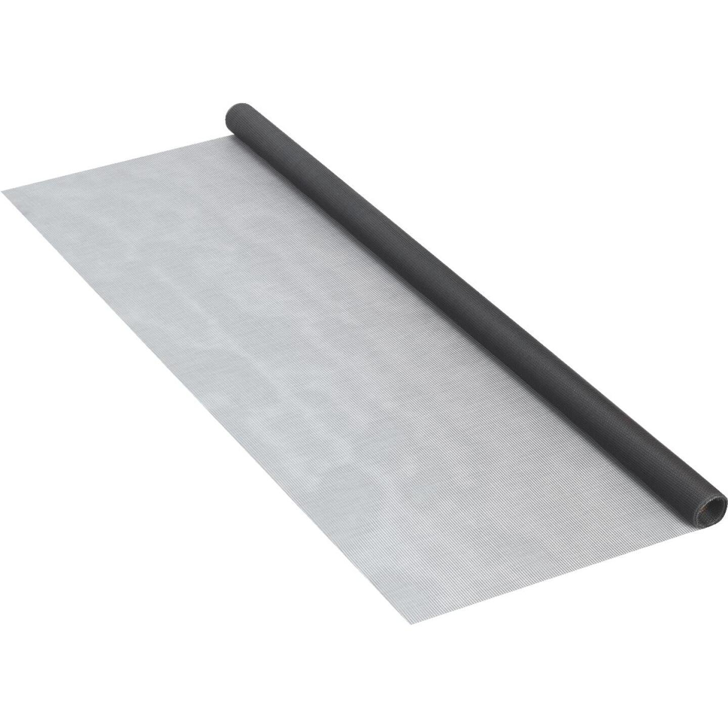 Phifer 24 In. x 84 In. Charcoal Fiberglass Screen Cloth Ready Rolls Image 3