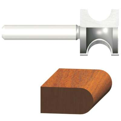 Vermont American Carbide 1 In. 7/8 In. Bull Nose Bit