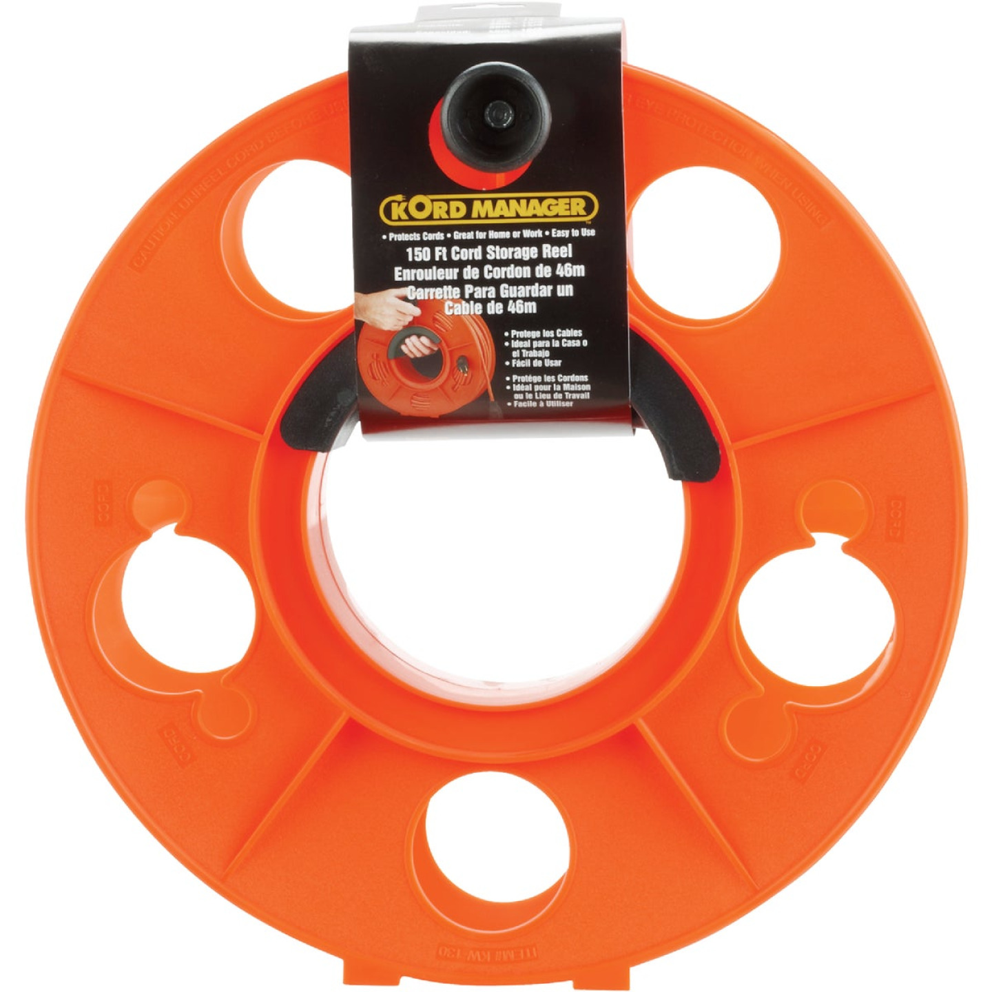 Bayco 150 Ft. of 16/3 Cord Capacity Plastic Cord Reel Image 2