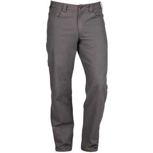Milwaukee Flex Gray 30 x 32 Heavy-Duty Work Pants