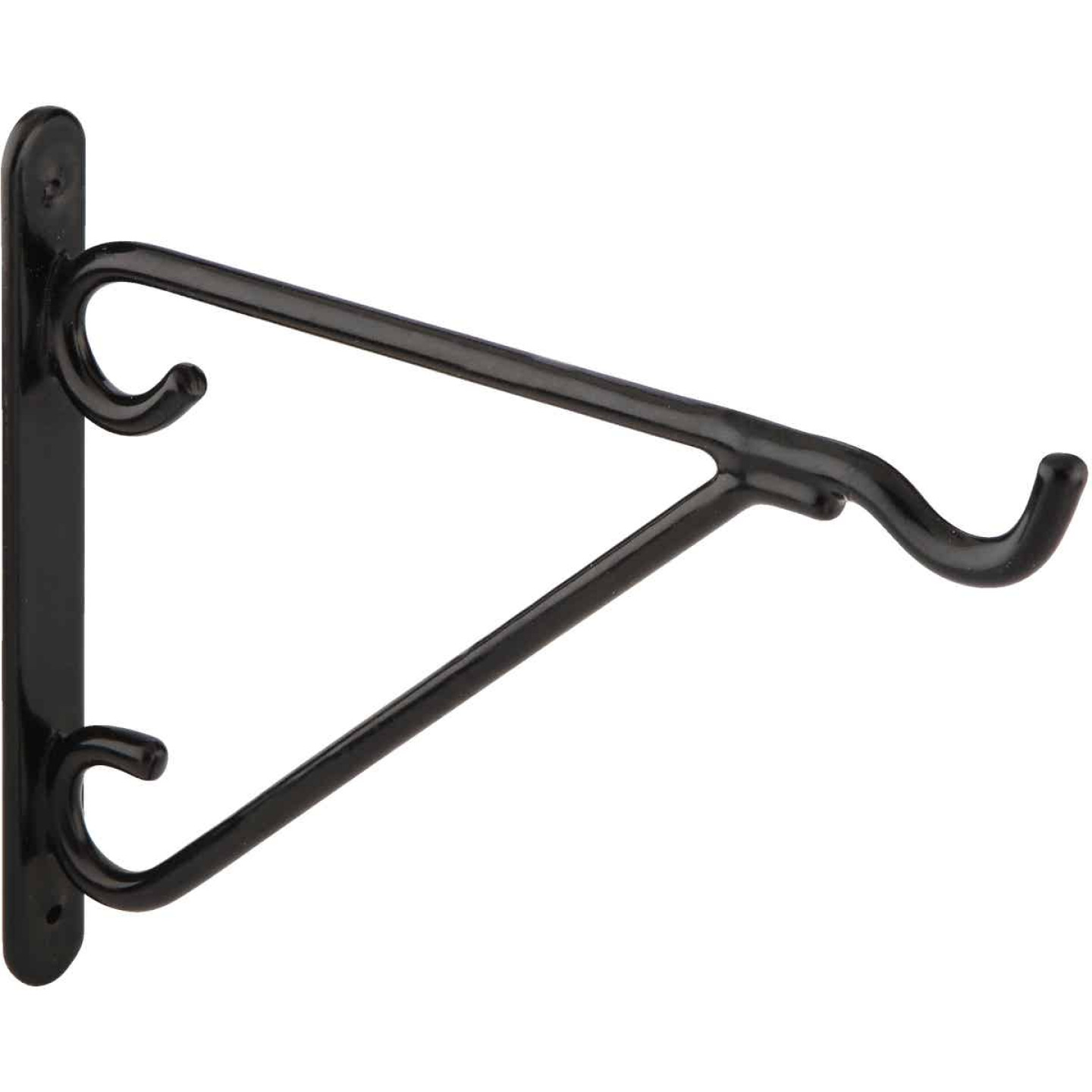 National 8 In. Black Vinyl-Coated Steel Plant Hanger Bracket Image 4